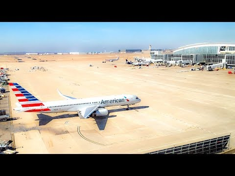 A Layover At DFW (Dallas/Fort Worth International Airport