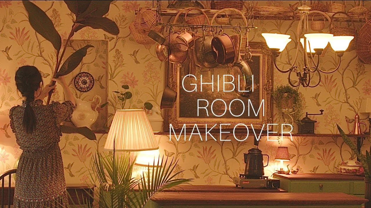 森暮らしDIYでアリエッティ風のお部屋作ってみたら可愛いすぎた🌿ブラックベリー収穫など