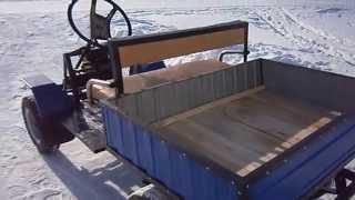 самодельный минигрузовик