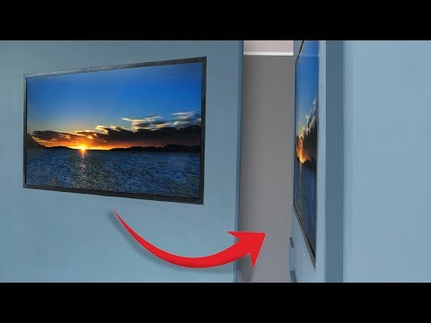 Building a homemade 'wallpaper TV'