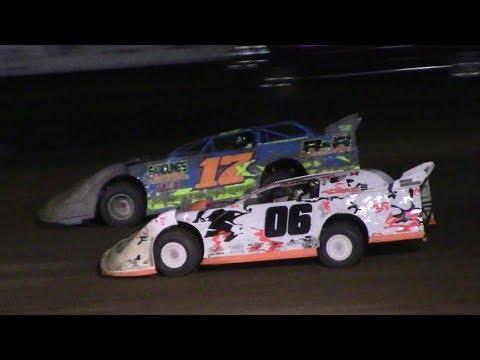 RUSH Crate Late Model B-Main | McKean County Raceway | 9-30-17