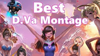 Probably the Best D.Va Montage | D.Va Community Overwatch Montage