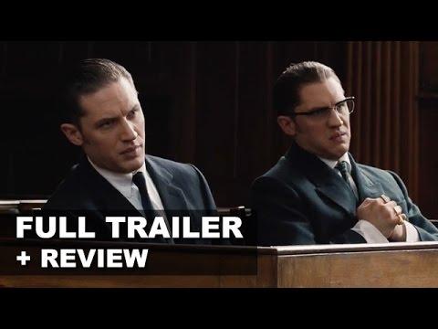 Legend 2015 Official Teaser Trailer + Trailer Review - Tom Hardy : Beyond The Trailer