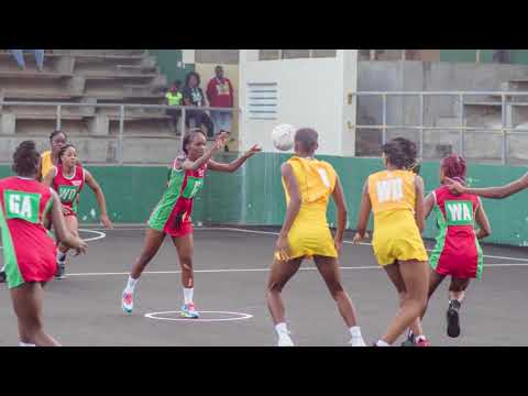 28th OECS/ECCB Under-23 Netball Tournament Day 2 Highlights