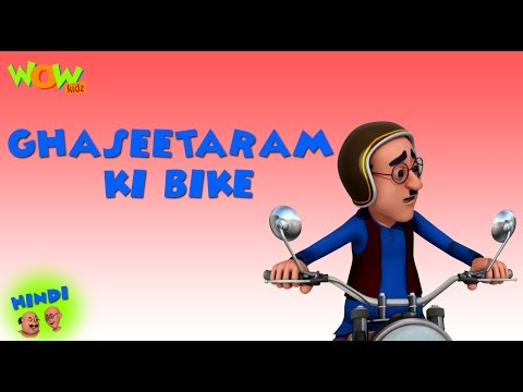 Ghaseetaram Ki Bike- Motu Patlu in Hindi WITH ENGLISH, SPANISH & FRENCH SUBTITLES thumbnail