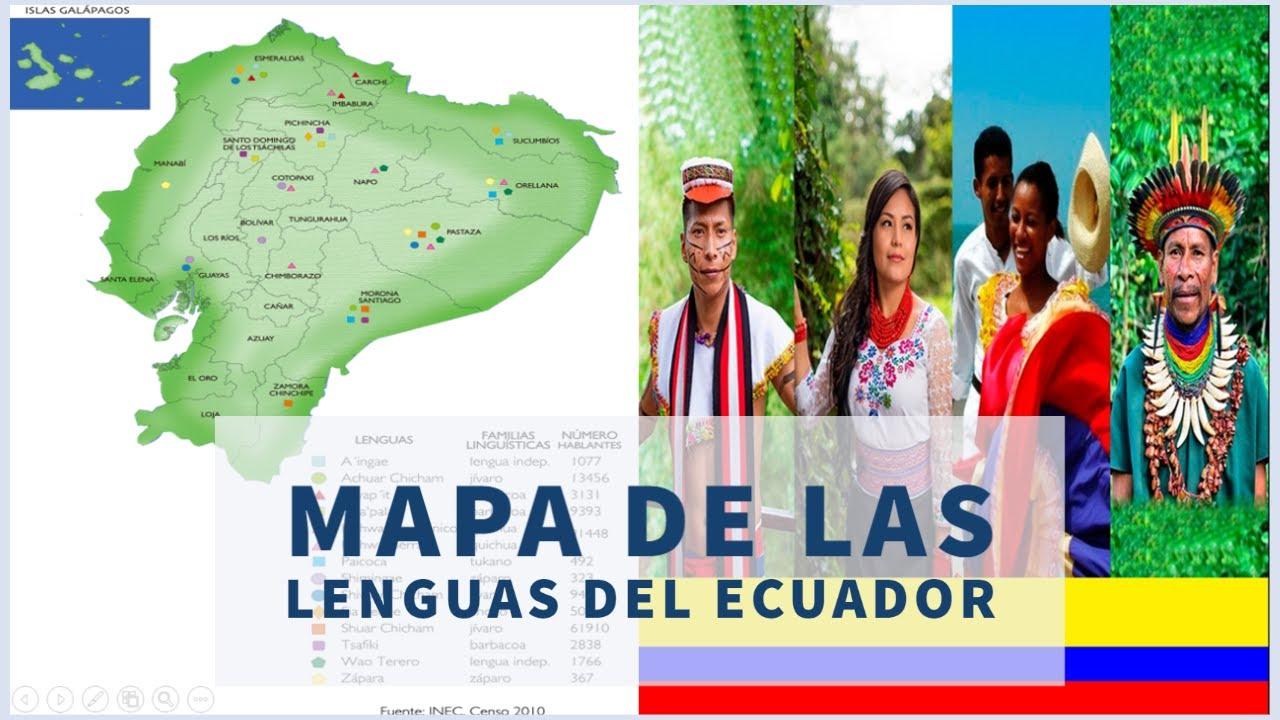 Ficha Pedagógica De La Semana 7 5to 6to 7mo Egb Actividad 2 Mapa De Las Lenguas Del Ecuador Youtube