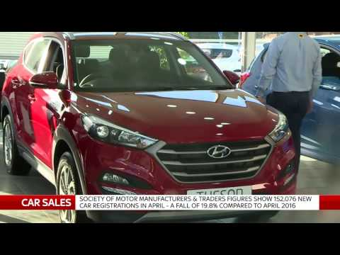 Car sales still at historic highs despite drop, says SMMT