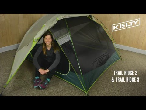Kelty Trail Ridge 2 and 3 & Trail Ridge 2 Person Camping Tent | Kelty