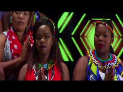 UNIVERSITY OF ZULULAND CHOIR SINGS KHUMBAYA