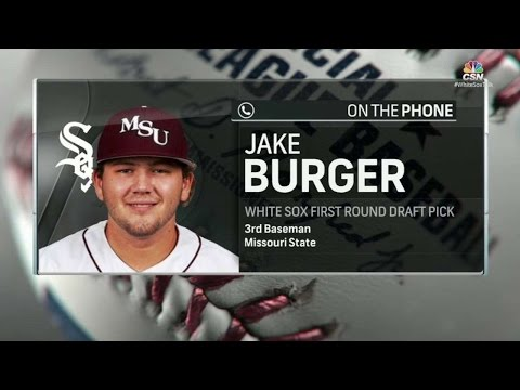 BAL@CWS: Burger on getting drafted by favorite team