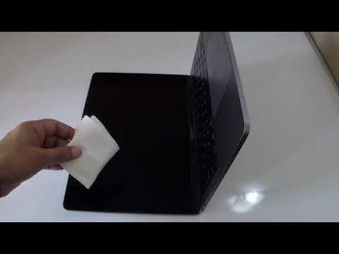 Cleaning MacBook Pro screen