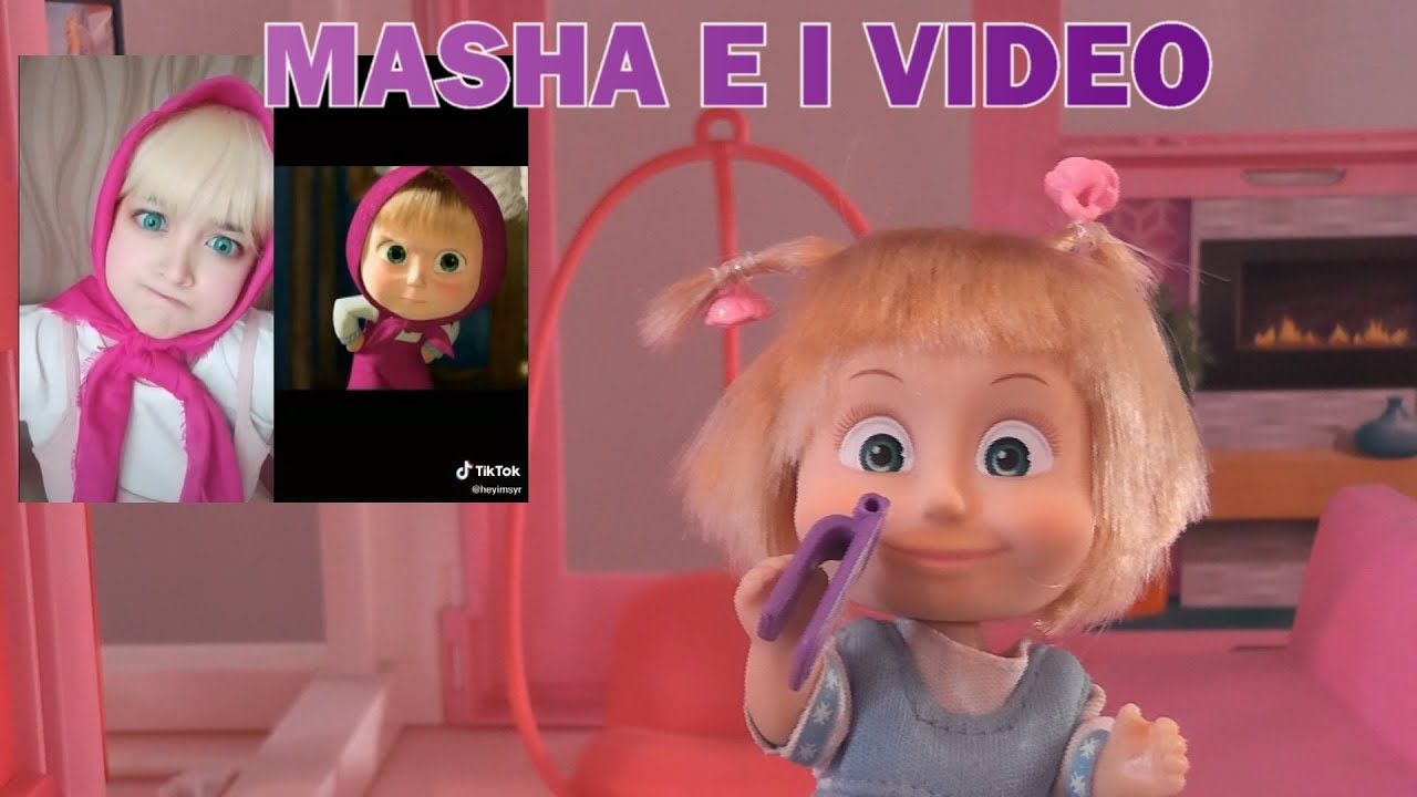 A casa con Masha: MASHA E I VIDEO!