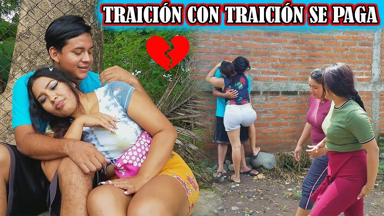 Traición con TRAICIÓN se PAGA,   su mujer le Hizo lo mismo con otro HOMBRE!