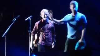 Ed Sheeran Chris Martin Thinking Out Loud Yellow Live In Foxboro