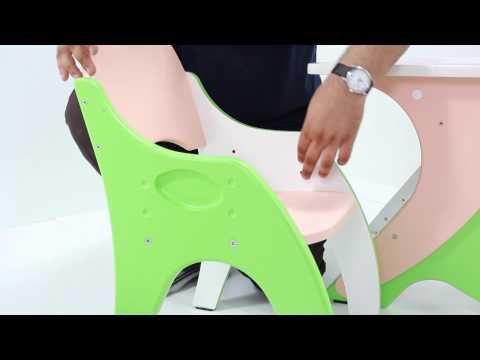 Набор детской мебели (регулируемая парта со стульчиком) Интехпроект