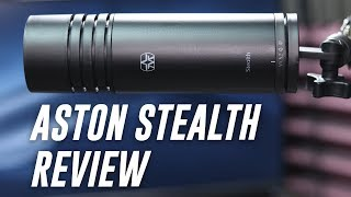 Aston Microphones Stealth Broadcast Microphone Review / Test