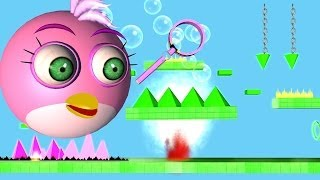 ANGRY BIRDS in Impossible Game - GEOMETRY DASH ♫ 3D animated mashup ☺ FunVideoTV - Style ;-))