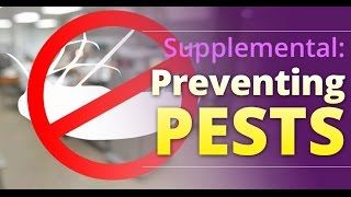 ORFoodhandlers Presents: Preventing Pests