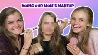 Doing Our Mom's Makeup for Mother's Day ~ Jacy and Kacy