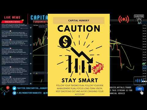 Live Trading Stream (FOREX, INDICES, METALS)