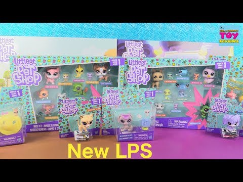Littlest Pet Shop LPS Playset Figure Packs Opening Toy Review | PSToyReviews