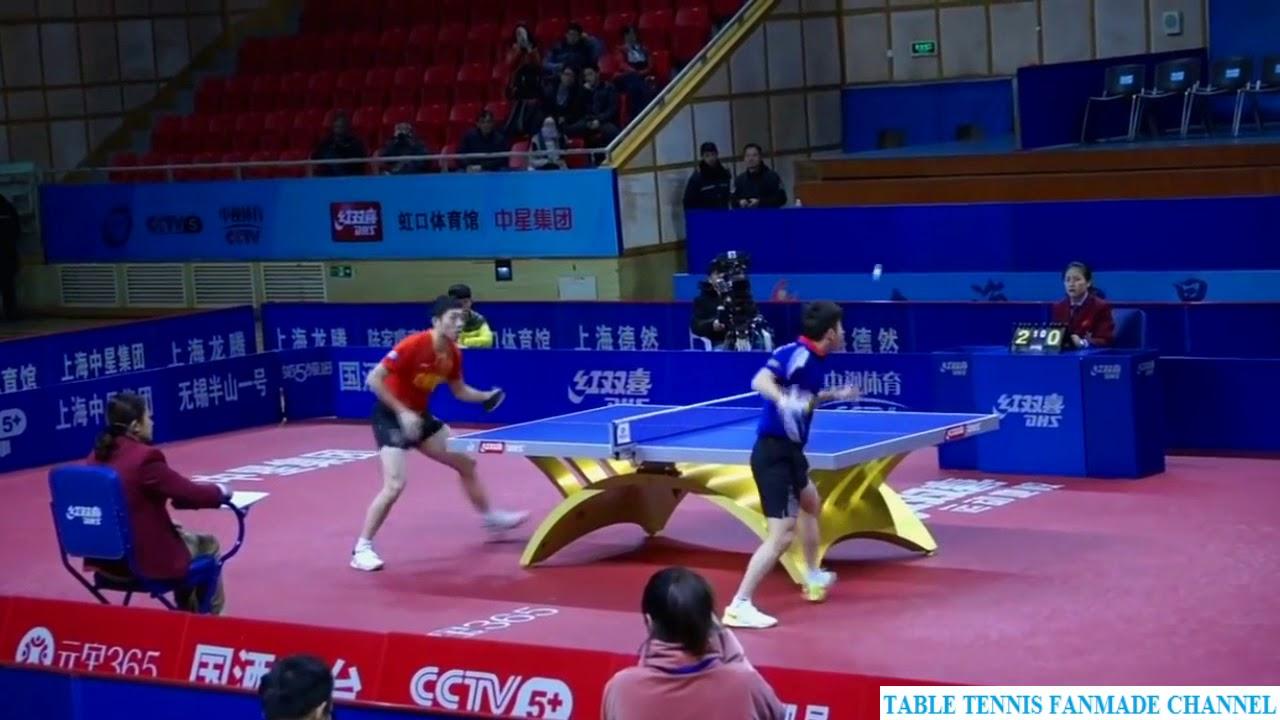 Xu Xin 许昕 vs Yu Heyi | China Super League 2017 - 2018
