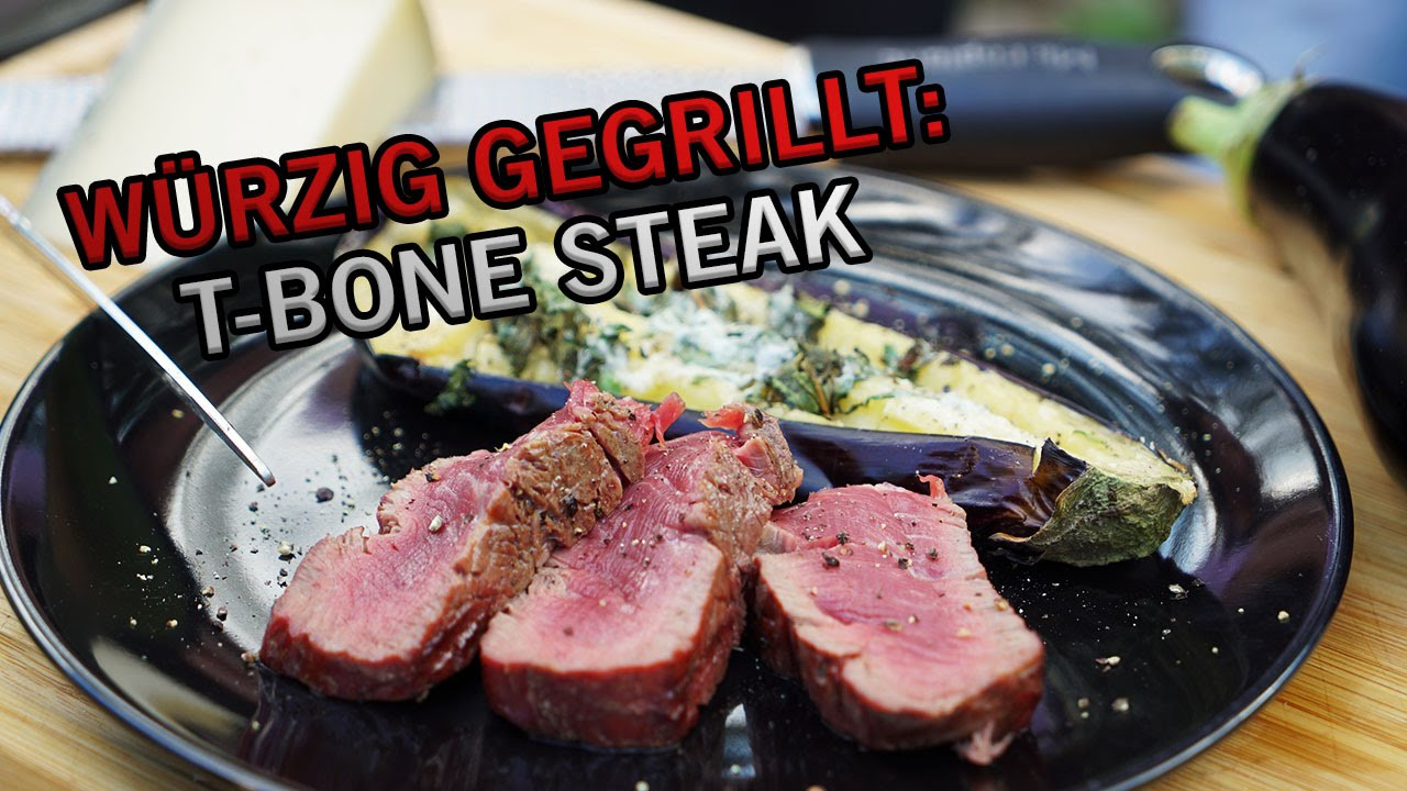 Weber Elektrogrill Steak : Würzig gegrillt t bone steak auf dem weber grill sternekoch