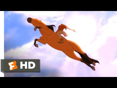 Spirit (2002) - Canyon Chase Scene (9/10) | Movieclips