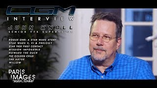 CGM Interviews - John Knoll (Rogue One, Abyss, Star Wars, Mission Impossible)