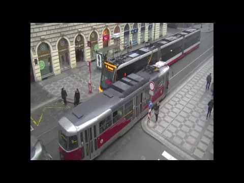 PČR: Policisté si v centru Prahy došli do tramvaje pro dealera drog