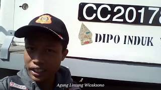 Berkunjung ke Dipo Lokomotif Bandung