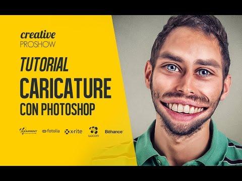 Tutorial come creare le CARICATURE con PHOTOSHOP