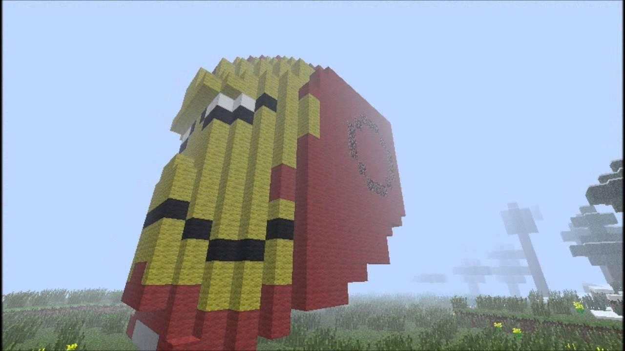 Iron Man Helmet In Minecraft Theminosaur Youtube