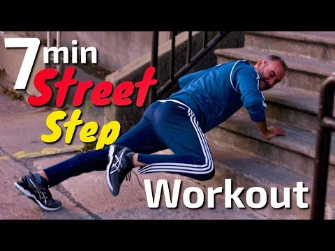7 Minute HIIT STREET WORKOUT - BODY WEIGHT EXERCISES