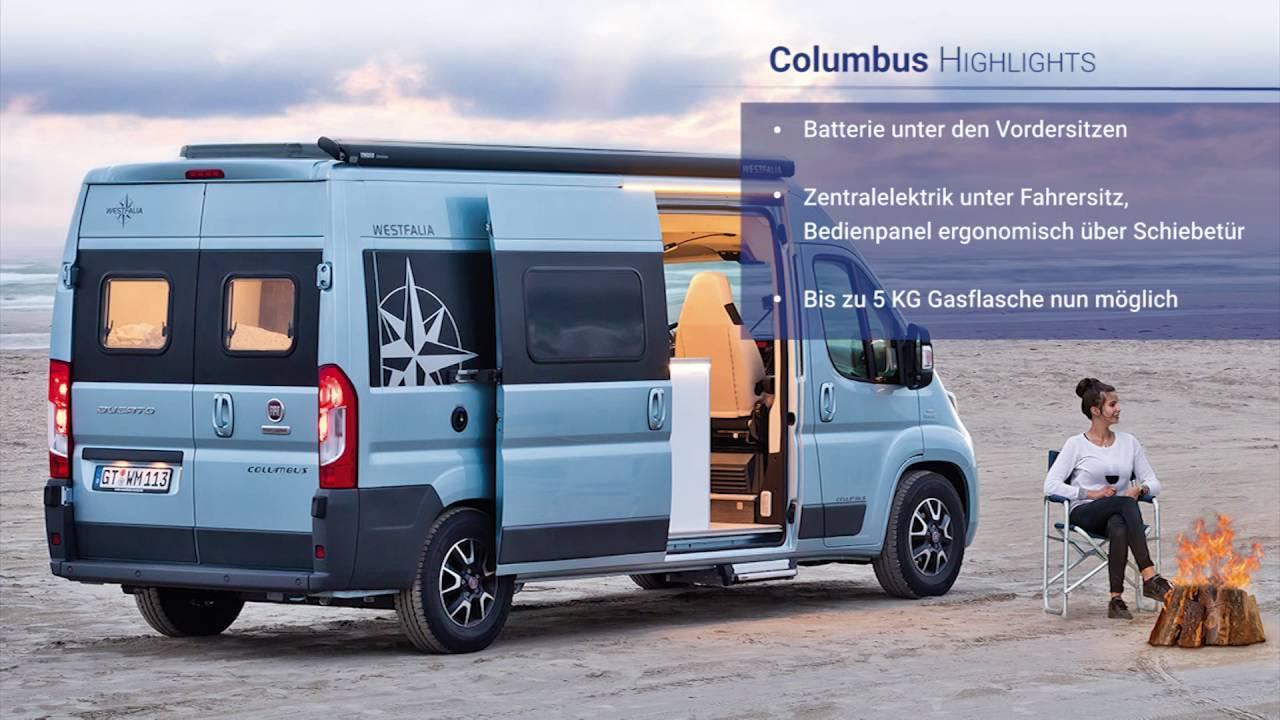 westfalia columbus modelljahr 2017 von mgs motor gruppe. Black Bedroom Furniture Sets. Home Design Ideas