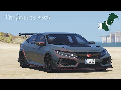 GTA 5 Pakistan Mod | Honda Civic 2019 | Car Garage | Urdu