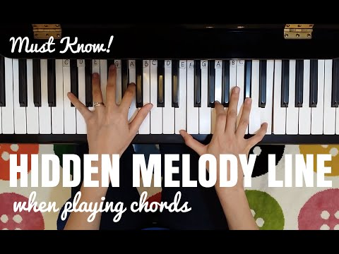The Hidden Melody Line when Playing Chords