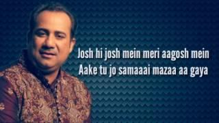 Mere Rashke Qamar Lyrics | ( BaadShaho) | Rahat Fateh Ali Khan |