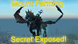 WoW Legion Efficient Mount Farming Guide (How to share raid lockout) [WoW Mount Farming Guide]