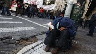اليونان أمام أزمة إنسانية
