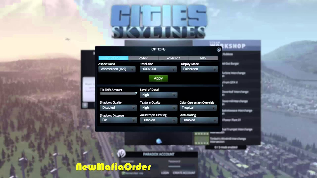 INCREASE FPS PERFORMANCE ON CITIES SKYLINES