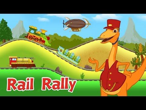 Dinosaur Train Rail Rally PBS Kids Game