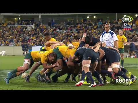 The Rugby Championship 2017: Wallabies v Argentina