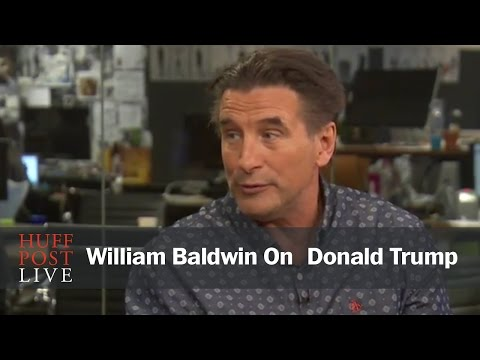 William Baldwin: I 'Wouldn't Vote' For Trump, But He Is 'Refreshing'