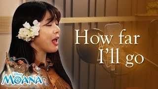 How far I'll go -  disney 'Moana'  cover (Auli'i cravalho,Alessia cara)  디즈니 모아나 커버ㅣ버블디아