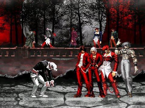 [KOF MUGEN] WF Orochi iori XIII VS Blood Team
