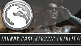 "Mortal Kombat X: Johnny Cage Klassic Fatality - New MK1 ""Decapitation"" Fatality! (Mortal Kombat 10)"