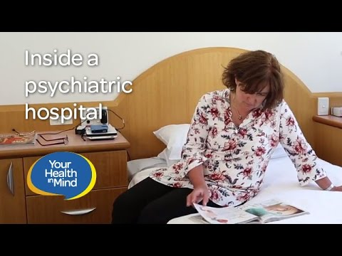 Inside a psychiatric hospital
