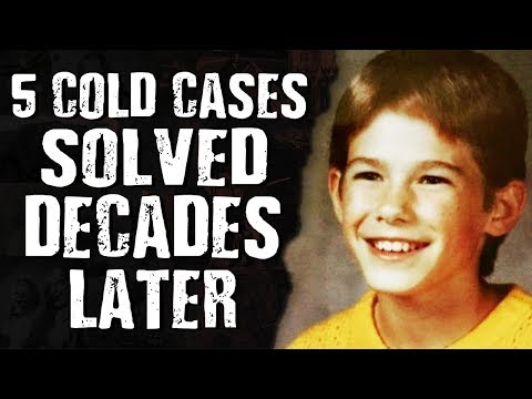 5 COLD CASES SOLVED DECADES LATER