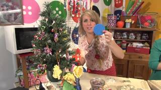 Knutseltv Kerstversiering Knutselen Youtube